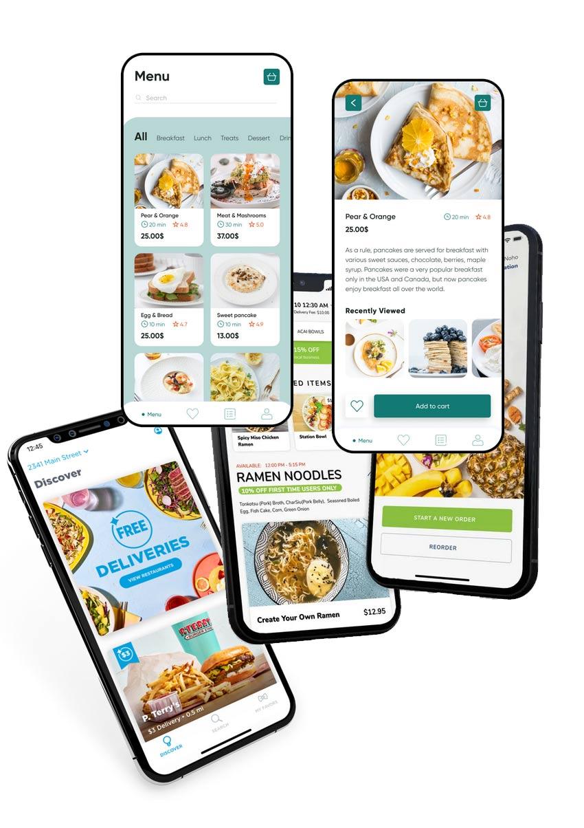 Modern Mobile app for Restaurants